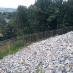 slope fencing