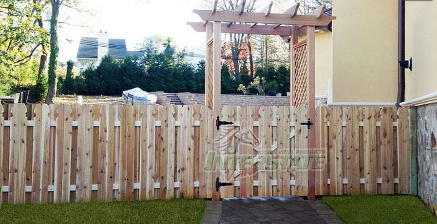 how to make a wooden fence look good