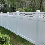 private fence with design